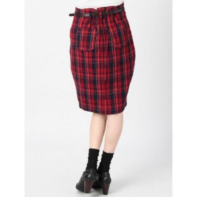 heather(ヘザー)の【美品】heather♡チェックタイトスカート レディースのスカート(ひざ丈スカート)の商品写真
