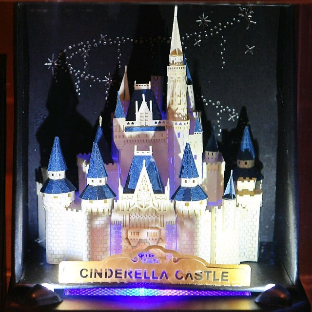 Disney 新商品シンデレラ城 ペーパーナノ ディズニーリゾート限定