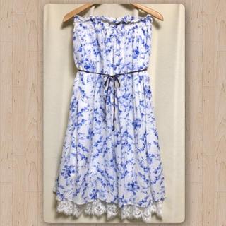 ザドレスアンドコーヒデアキサカグチ(The Dress & Co. HIDEAKI SAKAGUCHI)のTheDress&Co. 花柄2WAYロングスカート(ロングスカート)