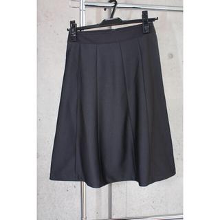 ニッセン(ニッセン)のレディース スーツ ジャケット スカート 上下セット 春夏用 黒 新品 未使用(スーツ)