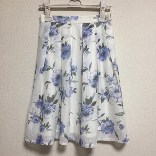 ハニーズ(HONEYS)の花柄ひざ丈スカート(ひざ丈スカート)