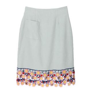メリージェニー(merry jenny)のおはなスカート(ひざ丈スカート)