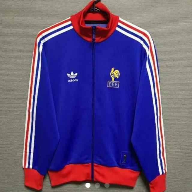 069199c12c1b1e adidas(アディダス)のアディダス オリジナルスサッカー フランス代表トリコロール トレフォイルS メンズの