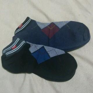 エドウィン(EDWIN)のEDWINの靴下 2足 黒と紺(ソックス)
