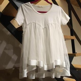 スリーフォータイム(ThreeFourTime)のThreeFourTime トップス♡(Tシャツ(半袖/袖なし))