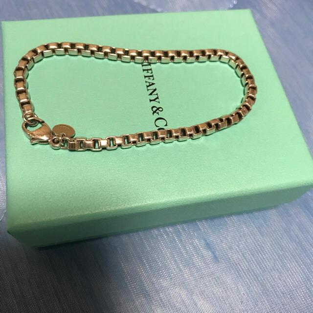 Tiffany & Co.(ティファニー)の♡'s様専用 ティファニー ベネチアン ブレス 正規品 メンズのアクセサリー(ブレスレット)の商品写真