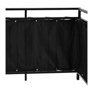 イケア(IKEA)のゆきぽん様専用 バルコニープライバシースクリーン ブラック(ブラインド)