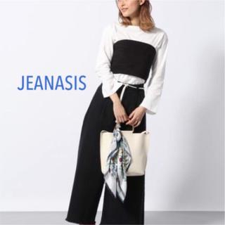 ジーナシス(JEANASIS)のjeanasis* ビスチェ付きカットソー タグ付き(ベアトップ/チューブトップ)