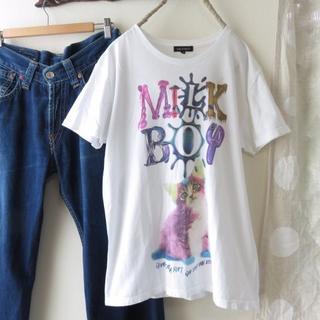 ミルクボーイ(MILKBOY)のレア MILK BOY ミルクボーイ Tシャツ ロゴTシャツ(Tシャツ/カットソー(半袖/袖なし))