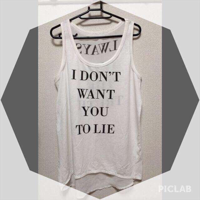 GU(ジーユー)のシースルー タンクトップ レディースのトップス(シャツ/ブラウス(半袖/袖なし))の商品写真