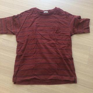 ジーユー(GU)のメンズ Tシャツ(Tシャツ/カットソー(半袖/袖なし))