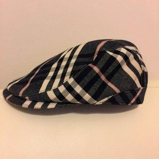 バーバリー(BURBERRY)のバーバリーブルーレーベル ハンチング(ハンチング/ベレー帽)