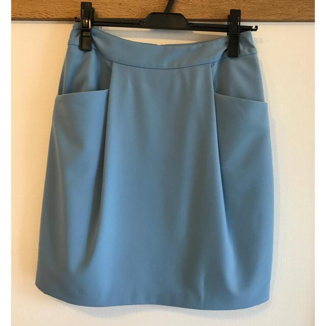 INDEX(インデックス)のindex コクーンスカート レディースのスカート(ひざ丈スカート)の商品写真