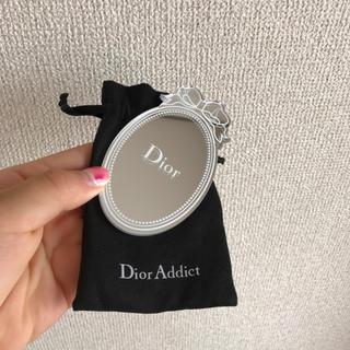 クリスチャンディオール(Christian Dior)のディオール ノベルティ ミラー(卓上ミラー)