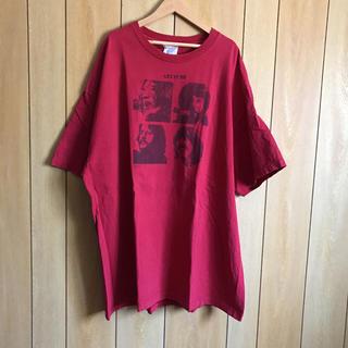USA古着 BIGTシャツ(2XL)ビートルズ(Tシャツ/カットソー(半袖/袖なし))