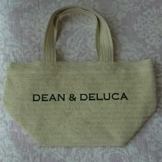 ディーンアンドデルーカ(DEAN & DELUCA)の未使用 ストロー バッグ 夏限定 わら(かごバッグ/ストローバッグ)