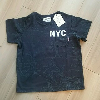 チャオパニックティピー(CIAOPANIC TYPY)の【新品、未使用】キッズ服115cm Tシャツ ブラック(その他)