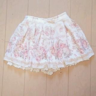 リズリサ(LIZ LISA)のリズリサ スカパン 薔薇 バラ ミオレミューAnk rouge axes ロリ(ミニスカート)