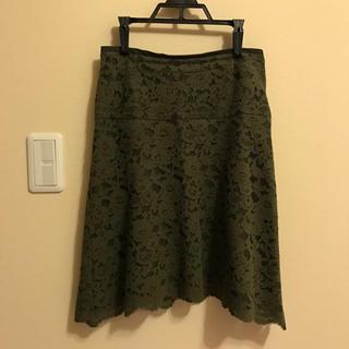 ノーブル(Noble)のスピックアンドスパン noble スカート(ひざ丈スカート)