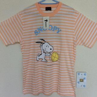 スヌーピー(SNOOPY)の新品タグ付き⭐︎SNOOPY Tシャツ Lサイズ(Tシャツ(半袖/袖なし))