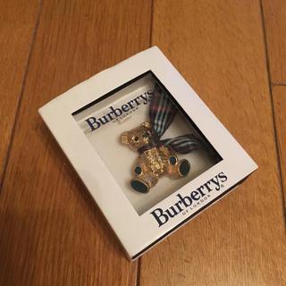 バーバリー(BURBERRY)の注目 Burberry バーバリー ブローチ(ブローチ/コサージュ)