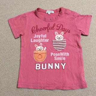 サンカンシオン(3can4on)のmeimiu様専用 3can4on Tシャツ95cmピンク色(Tシャツ/カットソー)