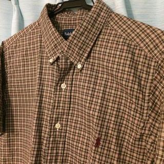 Ralph Lauren , ラルフローレン 半袖 シャツ 古着 古着屋 ブラウン ギンガムチェック 柄シャツの通販 by MNB\u0027s shop| ラルフローレンならラクマ