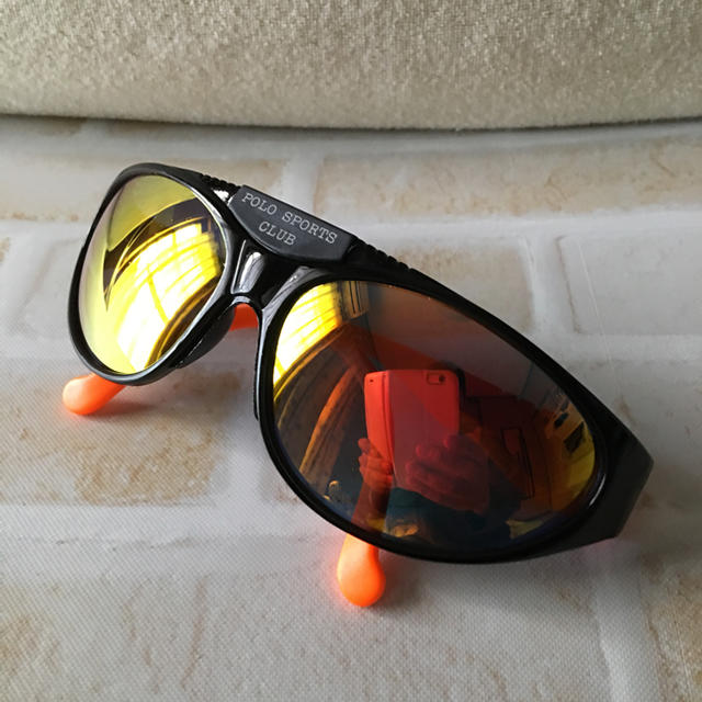 POLO SPORTS CLUB 新品未使用 オレンジフレーム  メンズのファッション小物(サングラス/メガネ)の商品写真
