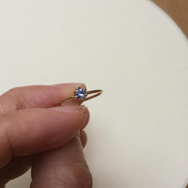 タンザナイト リング レディースのアクセサリー(リング(指輪))の商品写真