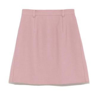スナイデル(snidel)の今期完売♡シンプルスクエアスカート(ひざ丈スカート)