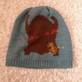 ヴィヴィアンウエストウッド(Vivienne Westwood)のヴィヴィアン☆ニット帽(ニット帽/ビーニー)