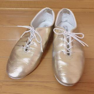 アトリエドゥサボン(l'atelier du savon)のゴールドシューズ★革★アンビデックス(ローファー/革靴)