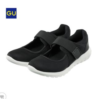 ジーユー(GU)の【専用】GU スニーカーサンダル ブラック XL 25cm(スニーカー)