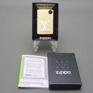 ジッポー(ZIPPO)のジッポ ルイヴィトン Zippo LOUIS VUITTON ライター 金 新品(その他)