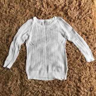 ムジルシリョウヒン(MUJI (無印良品))の無印良品サマーセーター(ニット/セーター)