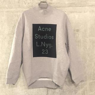 アクネ(ACNE)のサイズS 即完売Acne studios アクネオーバーサイズ ロゴスウェット(トレーナー/スウェット)