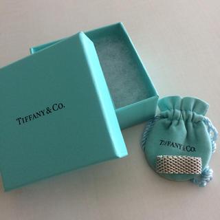 ティファニー(Tiffany & Co.)のティファニー  サマセットメッシュリング(リング(指輪))