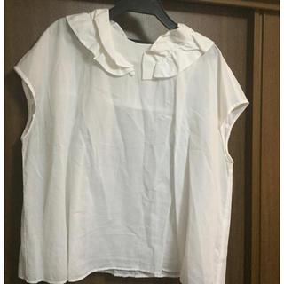ディディジジ(didizizi)のdidiziziディディジジのフリルえりブラウス(シャツ/ブラウス(半袖/袖なし))