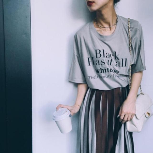 Ameri VINTAGE(アメリヴィンテージ)のameri vintage 代官山店舗限定ロゴTシャツ レディースのトップス(Tシャツ(半袖/袖なし))の商品写真