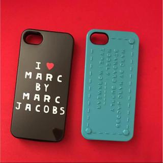 マークバイマークジェイコブス(MARC BY MARC JACOBS)のマークバイマーク iPhone5 ケース 2セット(その他)