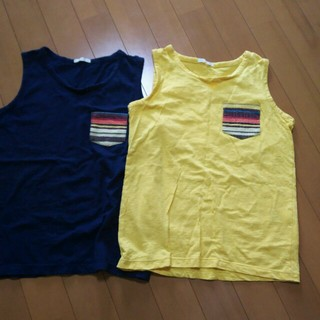ジーユー(GU)のタンクトップsetリラコパンツ専用(Tシャツ/カットソー)