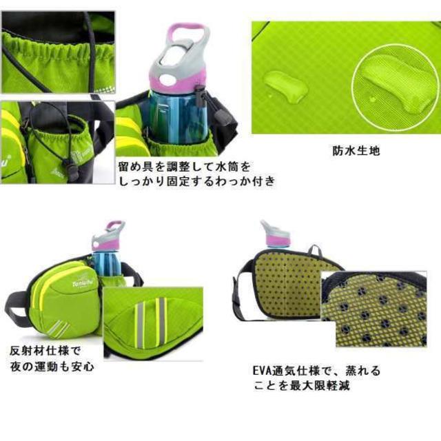 【新品】ウエストバッグ/ボディバッグ/レディース/メンズ/ブルー レディースのバッグ(ボディバッグ/ウエストポーチ)の商品写真