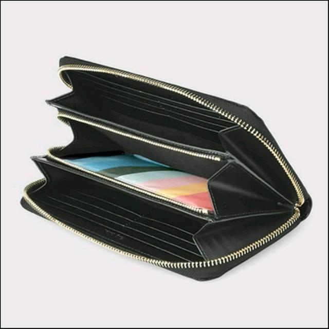 Paul Smith(ポールスミス)のPAUL SMITH ラウンドジップ 長財布 黒 メンズのファッション小物(長財布)の商品写真