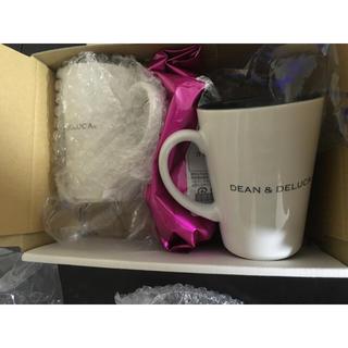 ディーンアンドデルーカ(DEAN & DELUCA)のDEAN&DELUCA 新品 マグカップとコーヒー豆セット(グラス/カップ)