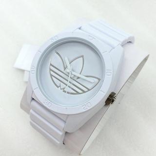 アディダス(adidas)の新入荷adidas 腕時計 ユニセックス ADH3198 軽量 ラバー ホワイト(腕時計)