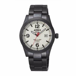 アヴィレックス(AVIREX)のAX-010M-8 アヴィレックス アナログウオッチ ミリタリー メンズ(腕時計(アナログ))