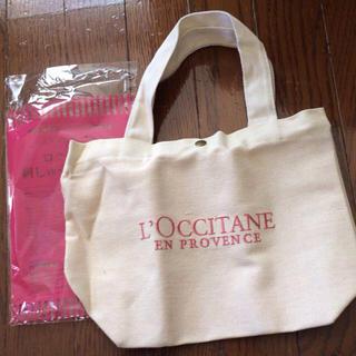 ロクシタン(L'OCCITANE)のロクシタンロゴトート♥︎(トートバッグ)