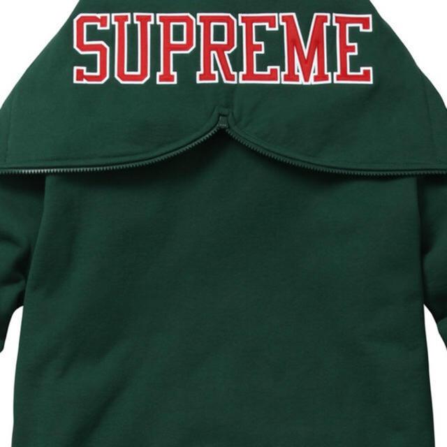 Supreme(シュプリーム)のsupreme.spirit ZIP UP sweat グリーン S メンズのトップス(パーカー)の商品写真