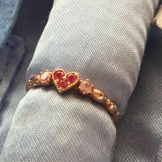 スタージュエリー(STAR JEWELRY)の美品 star jewelry ピンキーリング ハート(リング(指輪))