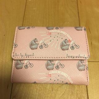 ハニーサロン(Honey Salon)の三つ折り財布(折り財布)